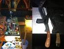 """Các đối tượng mang súng """"phê"""" thuốc lắc trong quán karaoke"""