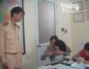 CSGT Hà Nội đã tìm được gia đình của cháu bé đi lạc