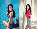 Vẻ nóng bỏng của nữ ca sỹ 9X xứ Hàn