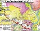 TPHCM khởi công tuyến tàu điện ngầm số 2