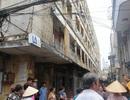 Di dời khẩn cấp các hộ dân sống trong chung cư dọa sập