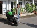 Nhập lậu xe mô tô phân khối lớn trị giá hơn 400 triệu đồng vào Việt Nam