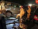 Bố mẹ cùng 2 con nhập viện sau vụ tai nạn liên hoàn