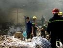 Hà Nội: 7 xe cứu hỏa dập đám cháy tại công ty in