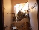 Đất đá ầm ầm đổ xuống, cả nhà kéo nhau bỏ chạy