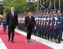 Chủ tịch nước hội đàm với Tổng thống Azerbaijan