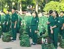 """111 chiến sĩ nhí lên đường """"nhập ngũ"""" học kỳ trong quân đội"""
