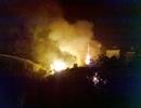 Hà Nội: Cháy lớn tại xưởng pha chế cồn ở Hoài Đức