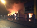 Cháy lớn tại khu công nghiệp ở London, Anh