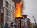 Nổ lớn gây sập chung cư tại New York, 12 người bị thương