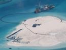 """Mỹ """"tố"""" Trung Quốc cải tạo phi pháp hơn 810 héc-ta trên Biển Đông"""