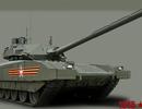 Nga: Không đạn pháo nào xuyên thủng được siêu tăng Armata