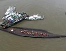Trung Quốc trục vớt 18 thi thể trong vụ tàu chìm