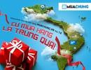 """""""Cứ mua hàng là trúng quà"""" mừng khai trương cửa hàng MuaChung 721 CMT8, TP. HCM"""