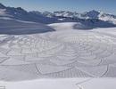 Ấn tượng với những tạo hình trên tuyết