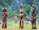 """Những bức tượng nhà mồ """"ngập"""" hồn ở Hà Nội"""