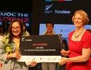 Nữ sinh Hòa Bình tự tin hùng biện tiếng Anh, giành vé đến New Zealand trải nghiệm