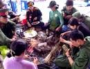 Lãnh đạo tỉnh về xã ăn Tết cùng người nghèo
