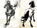 Hình ảnh loài Ngựa dũng mãnh trong hội họa
