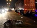 Tên trộm lao thẳng vào xe container sau khi trộm xe máy
