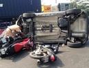 Ô tô lật nhào gây tai nạn liên hoàn trên xa lộ