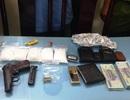 Công an vùng ven triệt phá băng tội phạm ma tuý sử dụng súng K59
