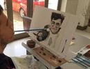 Chàng trai bại liệt vẽ tranh tuyệt đẹp bằng miệng