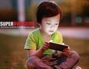 """Trẻ em Việt Nam """"nghiện"""" smartphone hơn trẻ em tại Mỹ"""