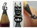 Những tác phẩm điêu khắc cực đẹp và tinh xảo trên ruột bút chì