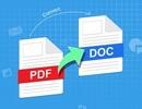 Hướng dẫn cách chỉnh sửa file PDF bằng Word và chuyển đổi sang các định dạng khác