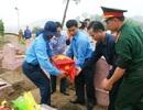An táng 16 bộ hài cốt liệt sĩ được phát hiện tại nhà dân