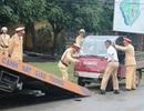 """Ninh Bình: CSGT ráo riết truy quyét """"xe mù"""""""