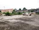 Trung tâm TDTT bỏ hoang chưa biết đến bao giờ xây dựng trở lại