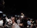 Dân tố cảnh sát cơ động đuổi người vi phạm dẫn đến tai nạn