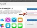 Hướng dẫn thiết lập lại mật khẩu Apple ID