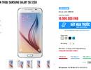 Samsung Galaxy S6 đã cho đặt hàng trước với giá 16,99 triệu đồng