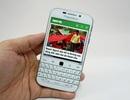 Đập hộp Blackberry Classic phiên bản trắng chính hãng tại Việt Nam