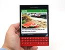 Đập hộp Blackberry Passport đỏ chính hãng tại Việt Nam