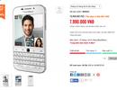 Blackberry Classic phiên bản màu trắng bất ngờ giảm 2,5 triệu đồng