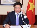 Phó Thủ tướng Phạm Bình Minh điện đàm với Ngoại trưởng Mỹ