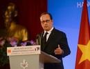 18 giờ bận rộn của Tổng thống Pháp Hollande tại Hà Nội