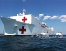 Tàu bệnh viện khổng lồ của Mỹ sắp đến Đà Nẵng