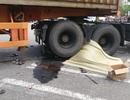 Bị cuốn vào gầm xe container, 2 phụ nữ thương vong