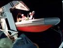 Cứu thành công 20 thuyền viên trước lúc tàu chìm