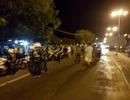 Đà Nẵng: Bắt đoàn xe mô tô dùng còi, đèn ưu tiên