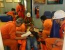 Điều tàu đi cứu thuyền viên Trung Quốc bị đau bụng dữ dội