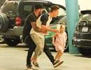 """David Beckham lại """"đốn tim"""" người hâm mộ khi chơi cùng các con"""