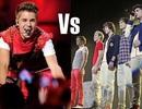 """Justin Bieber """"đại chiến"""" với One Direction"""