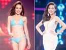 """Lệ Quyên """"nóng bỏng"""" với bikini trong đêm bán kết Miss Grand International 2015"""