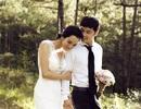 Kim Cương, Ưng Hoàng Phúc tung hình cưới đẹp nên thơ